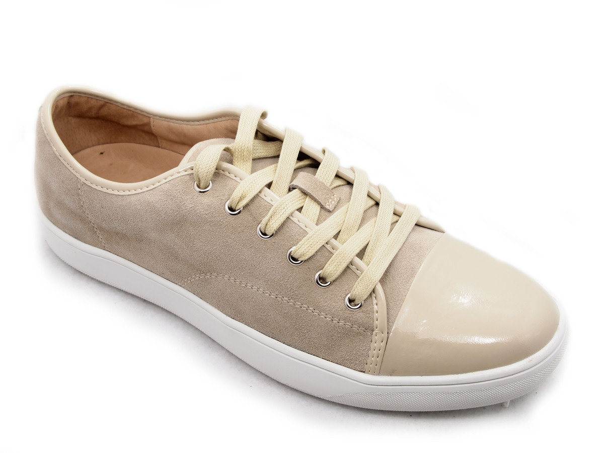 LINEA 麂皮綁帶運動鞋