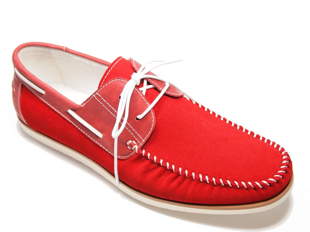 PONTOON  麂皮綁帶休閒鞋