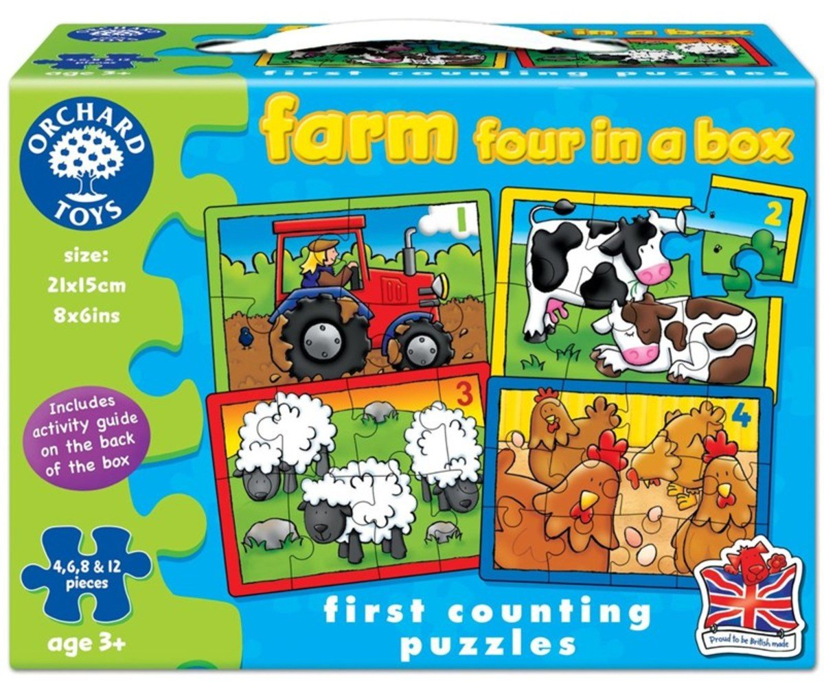 First Puzzle - Farm Four In a Box