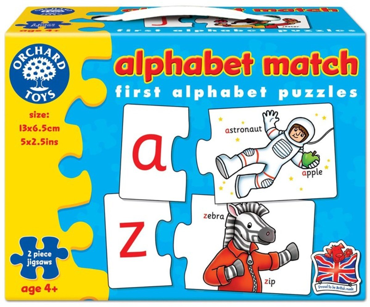 First Puzzle - Alphabet Match
