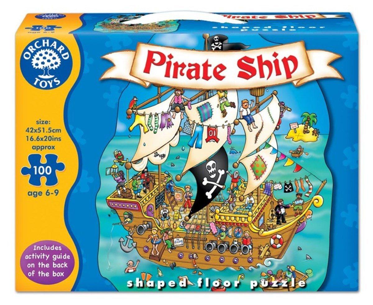 Pirate Ship Puzzle, 100 pcs