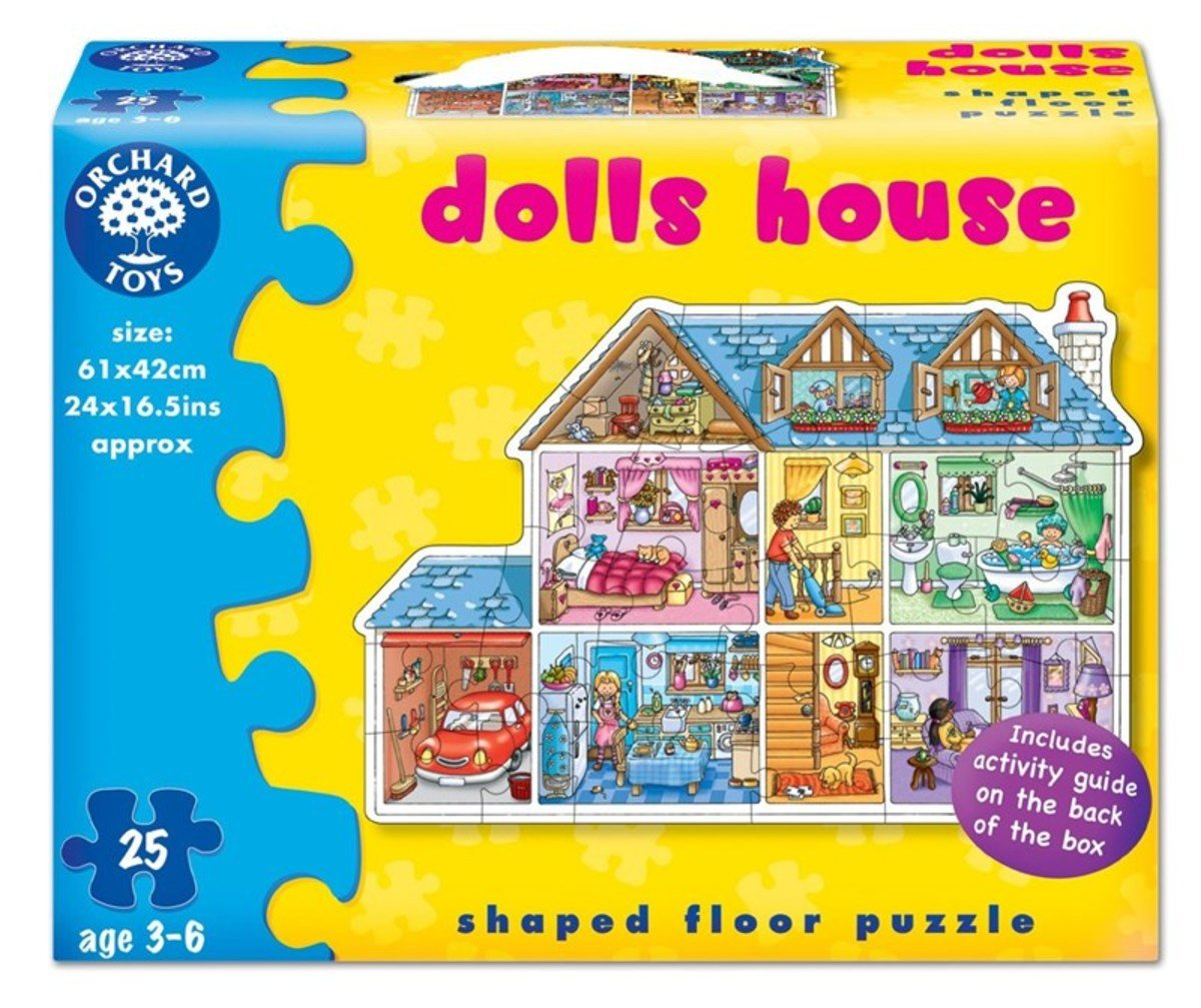 Dolls House Puzzle, 25 pcs