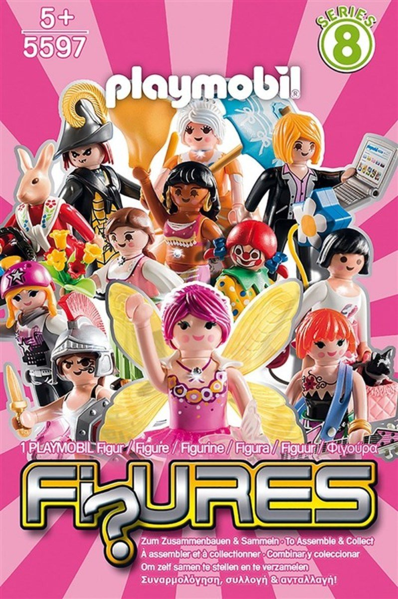 PLAYMOBIL Figures - Girls (Series 8)