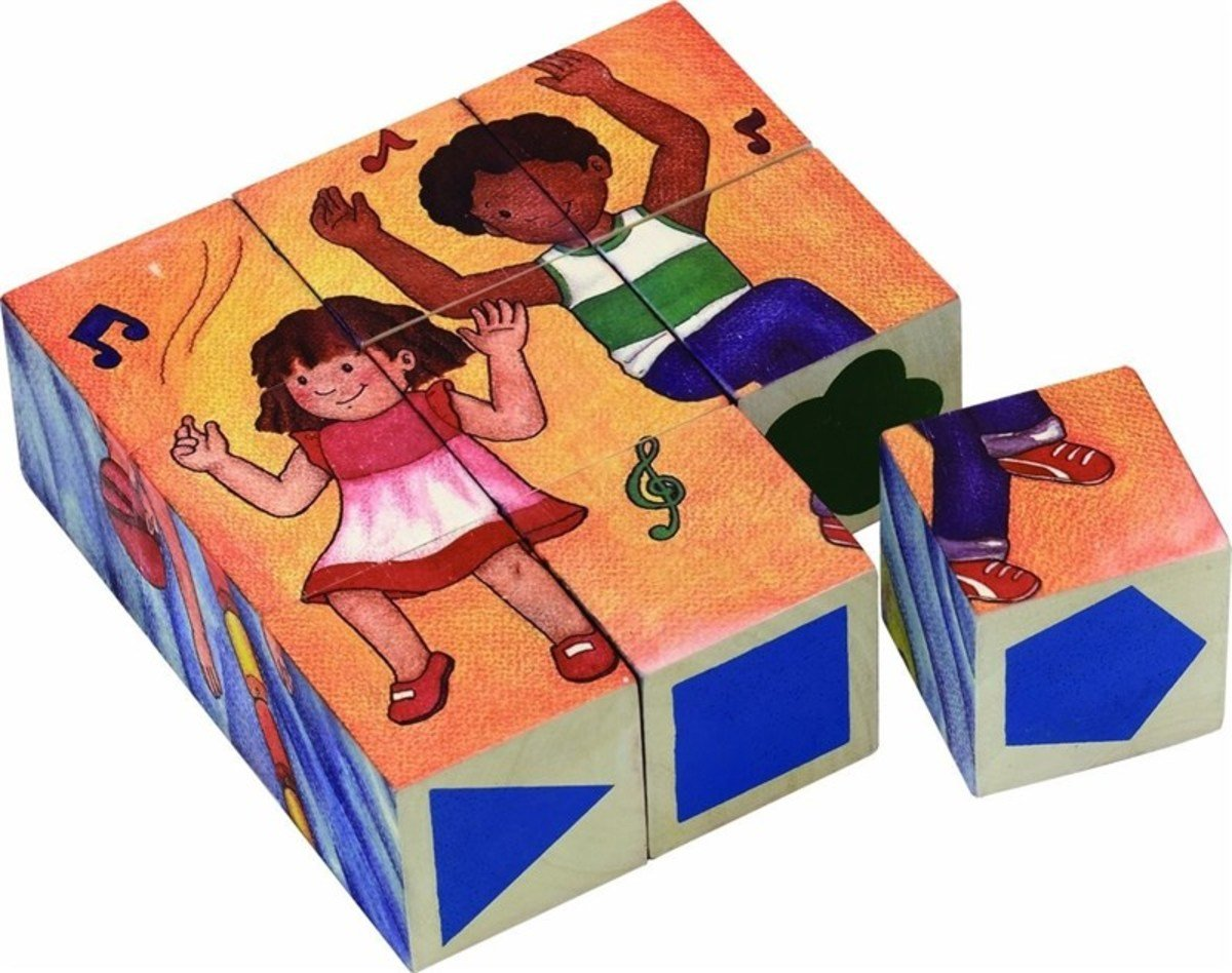 Activity Puzzle Blocks - 9 Blocks