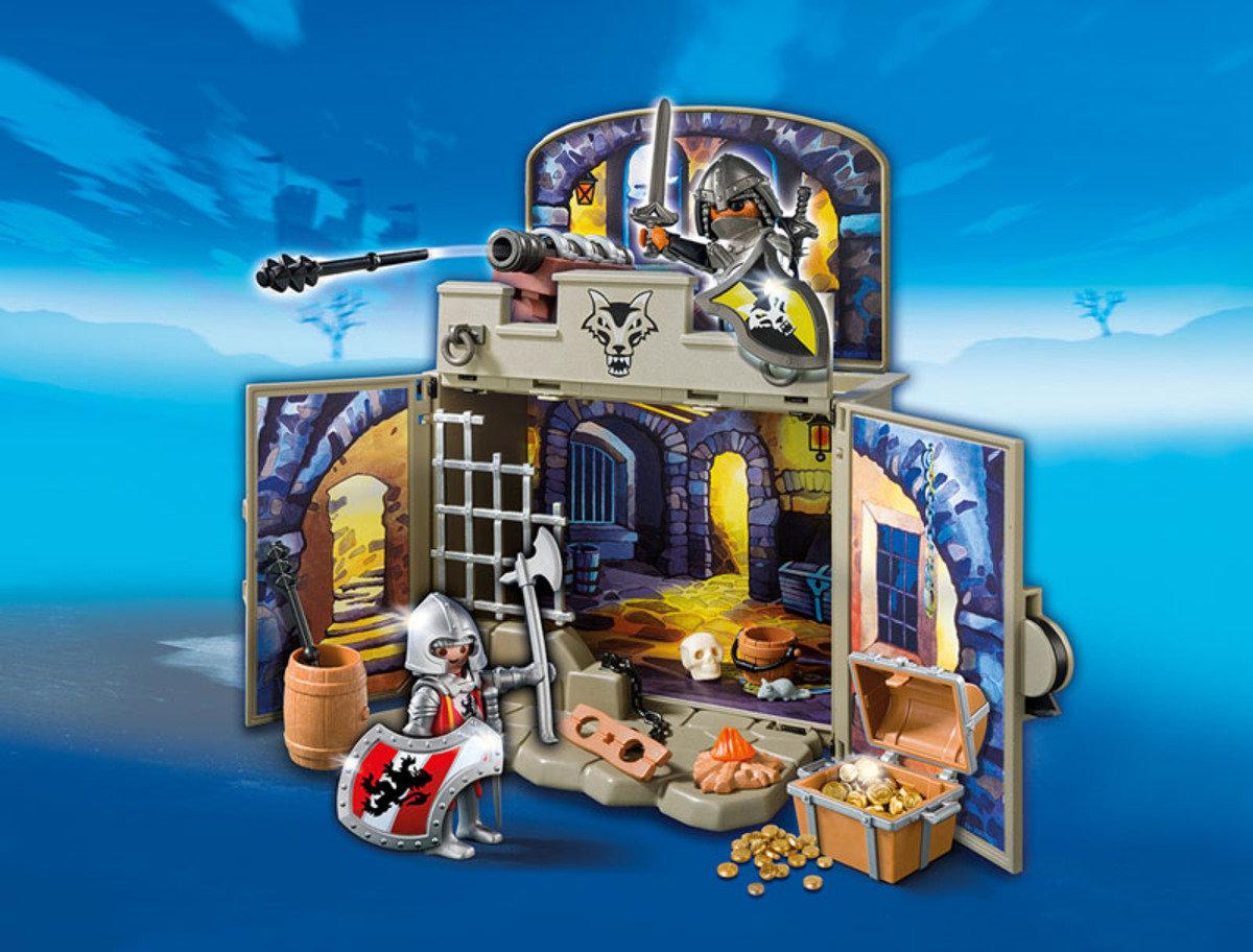 My Secret Knights' Treasure Room Play Box