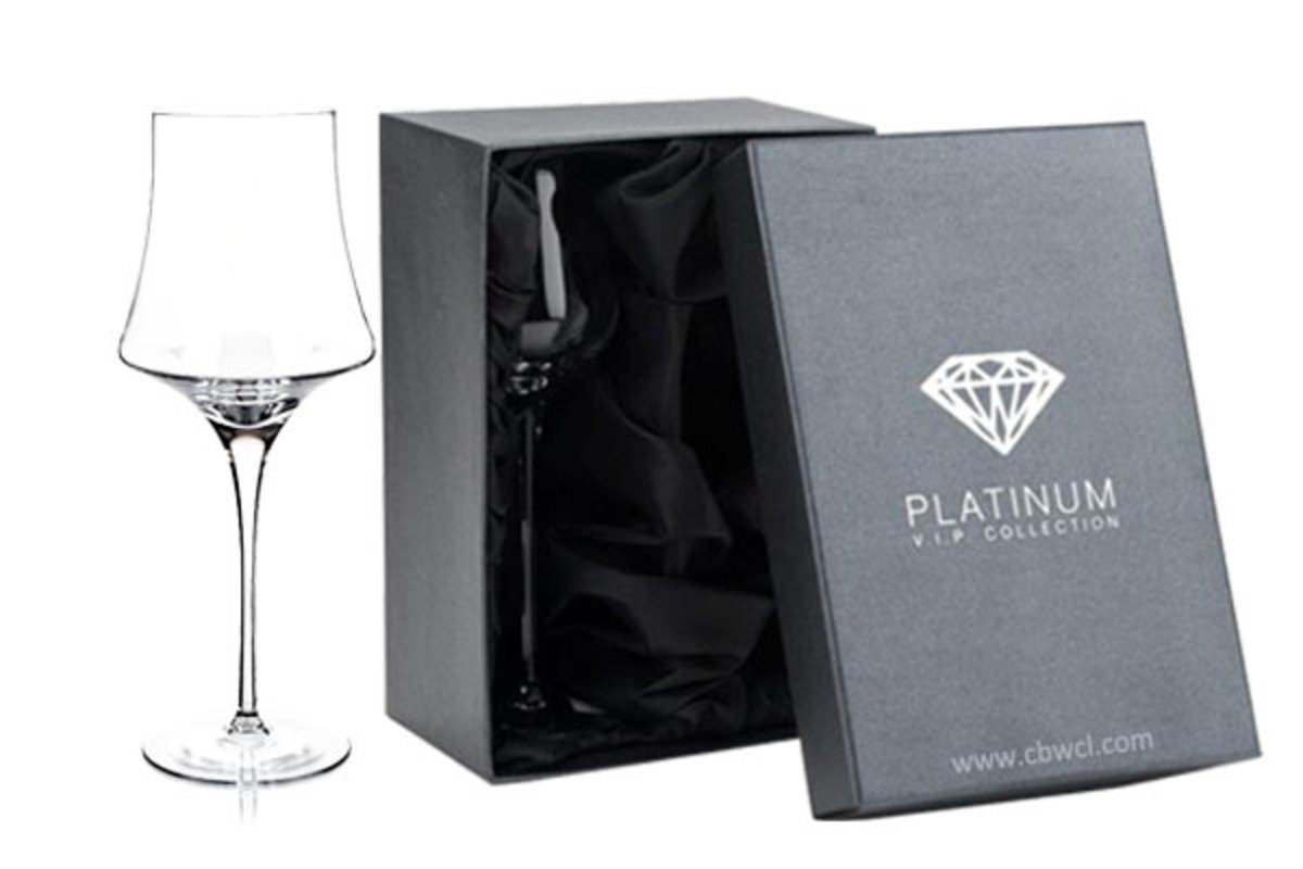 Enigma 純人工吹製無鉛水晶紅酒杯 ~ 2隻禮盒裝