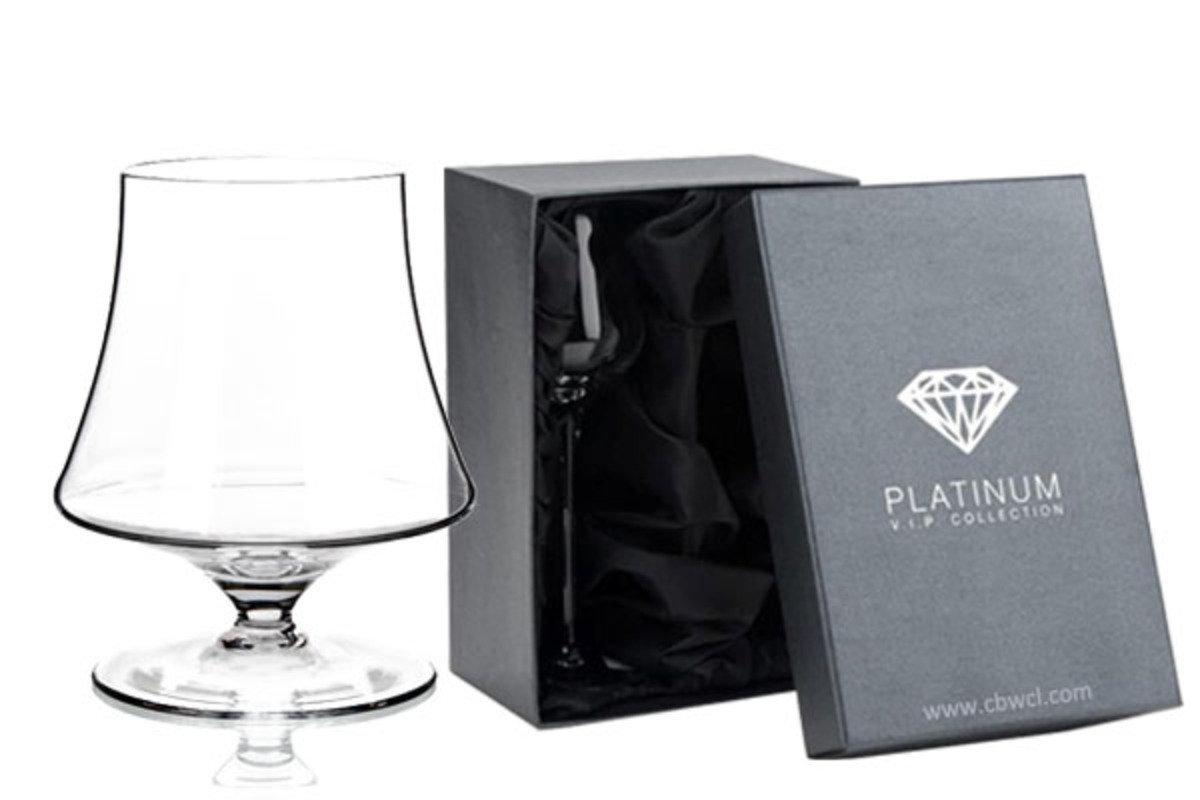 Enigma 純人工吹製無鉛水晶白蘭地酒杯 ~ 2隻禮盒裝