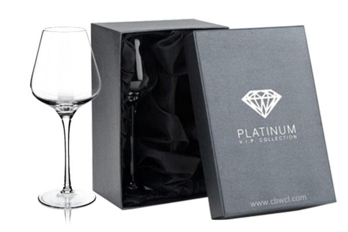 Amy 純人工吹製無鉛水晶紅酒杯 ~ 2隻禮盒裝