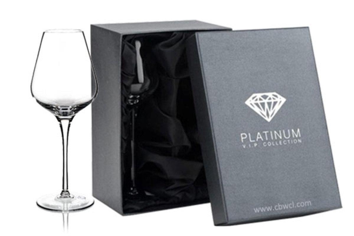 Amy 純人工吹製無鉛水晶葡萄酒杯 ~ 2隻禮盒裝