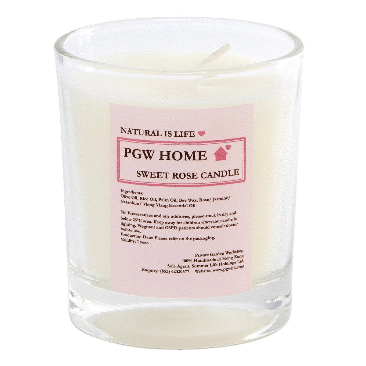 Sweet Rose 蠟燭(玻璃杯)