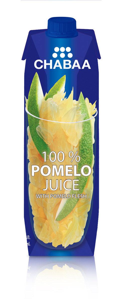 鮮芭 100% 泰國柚連果肉汁 1LT x 12/set