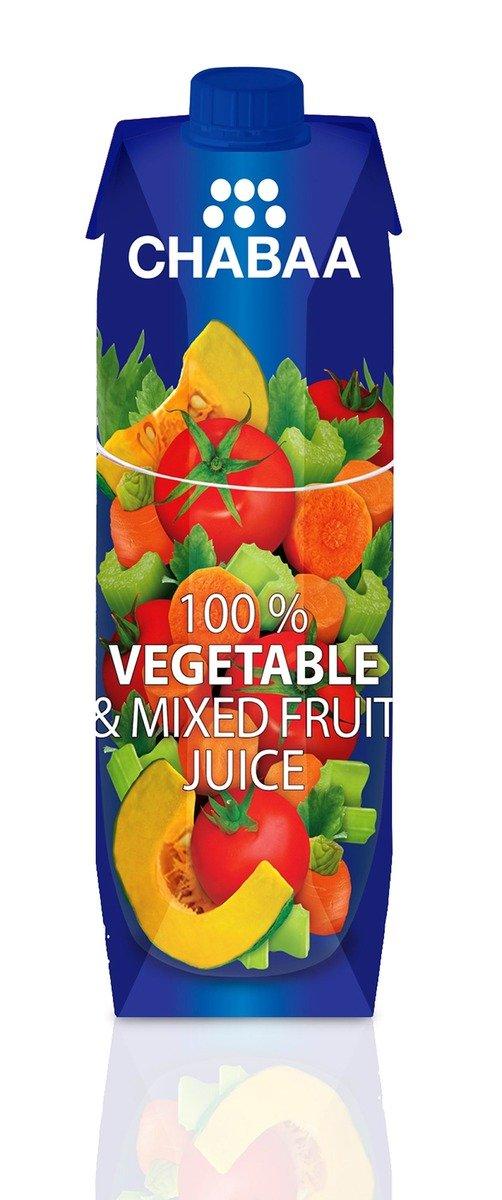 鮮芭 100% 雜菜果汁 1LT x 12/set