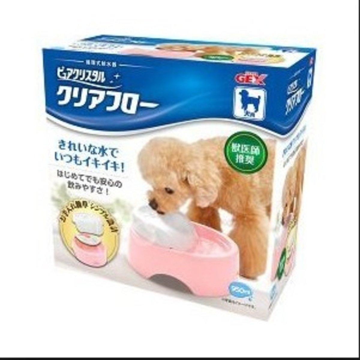 狗用循環式碗型飲水機-粉紅950ml