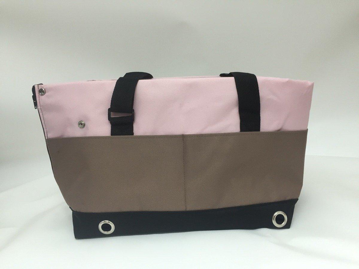 時尚寵物袋粉紅&卡其