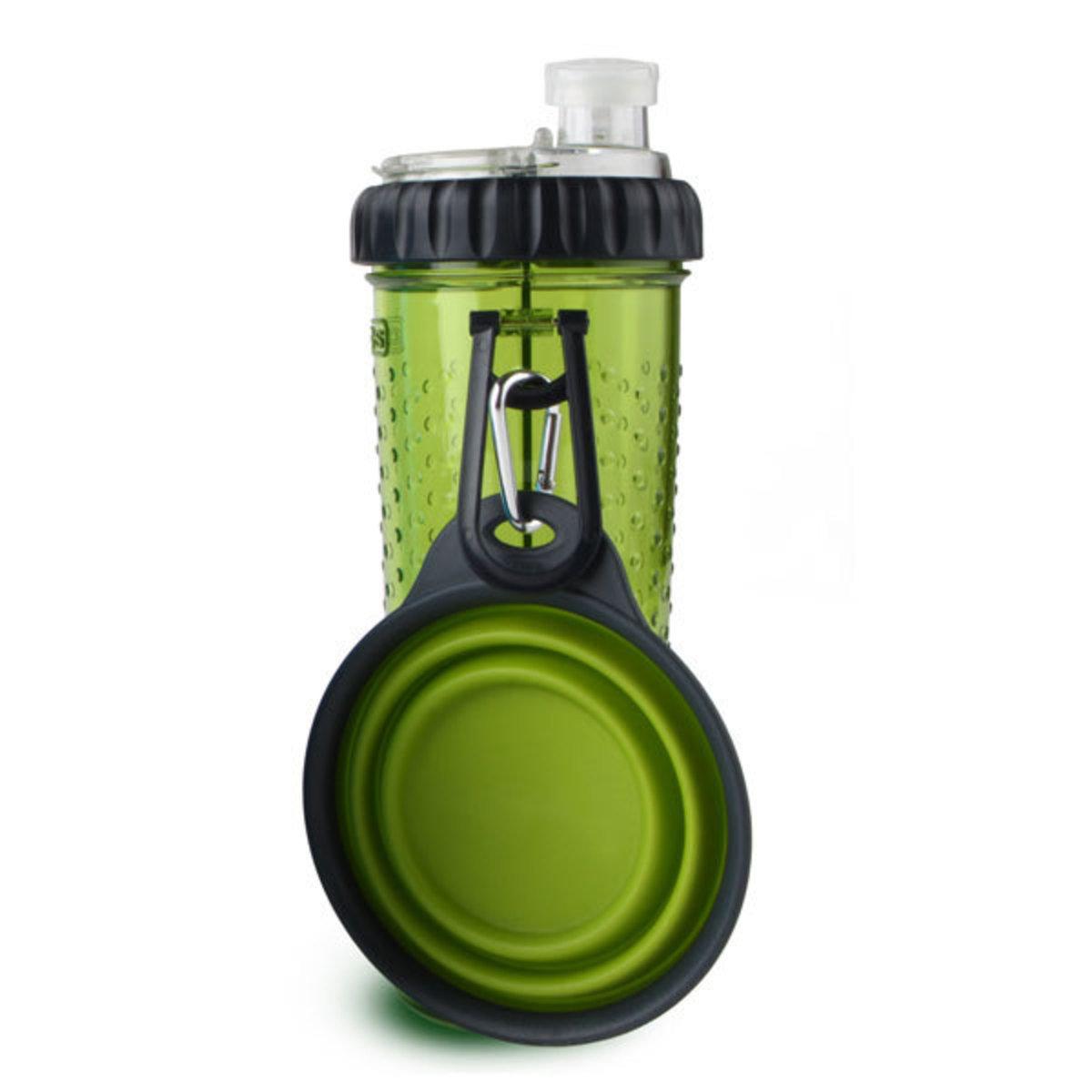 便攜式外出水糧兩用杯-綠色