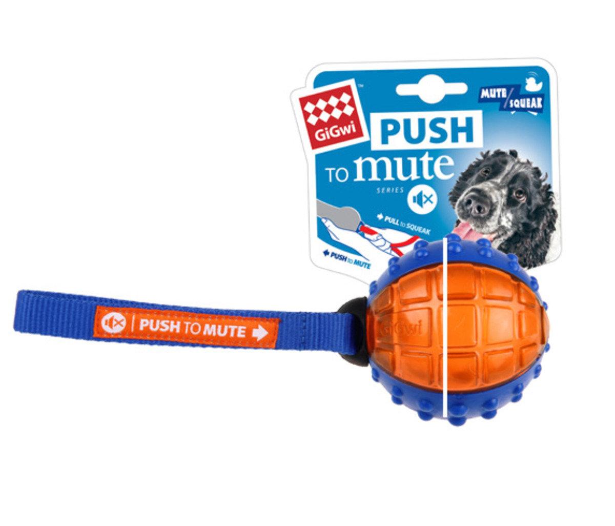 藍橙色波波互動發聲狗玩具