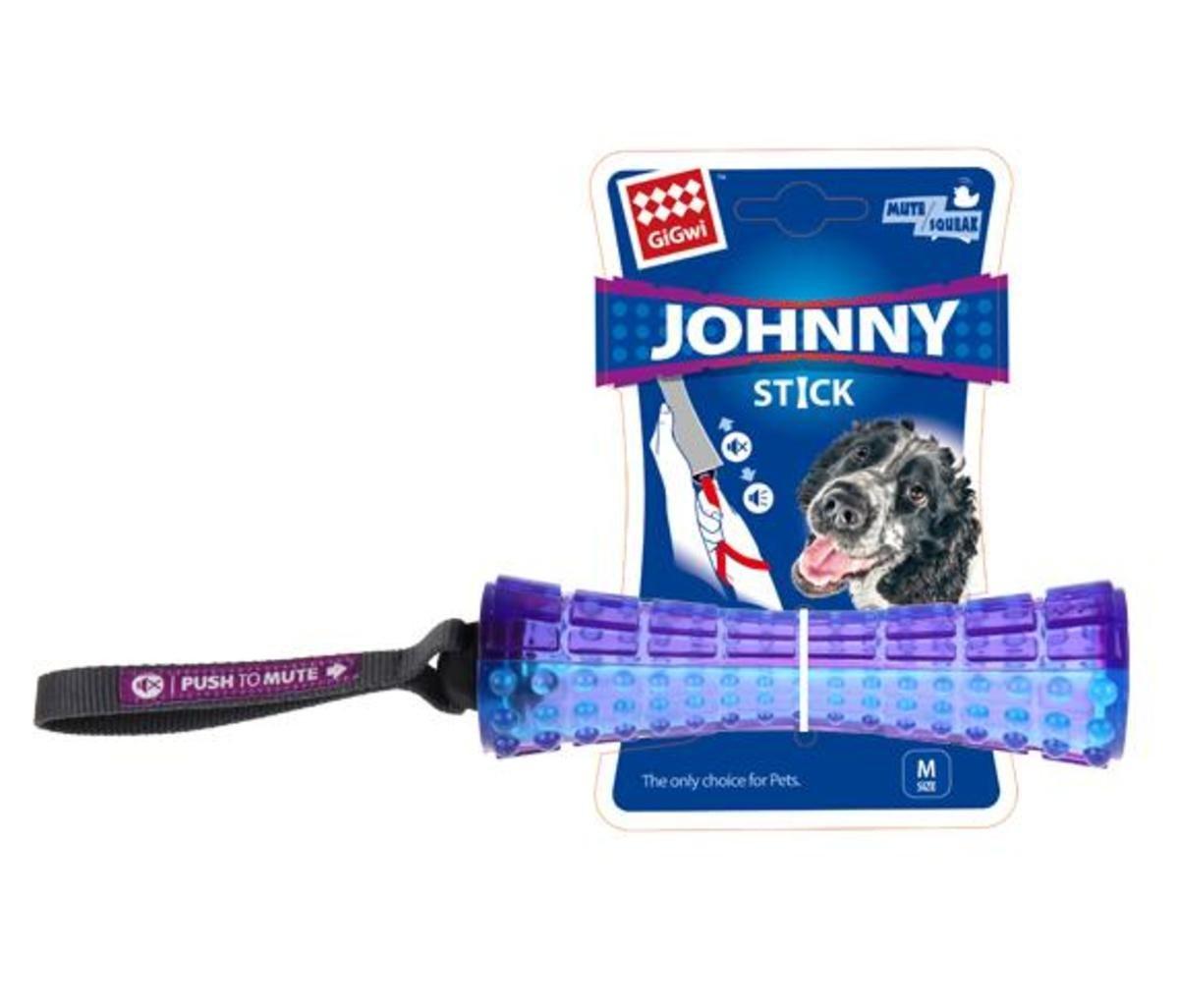 藍紫色互動發聲狗玩具