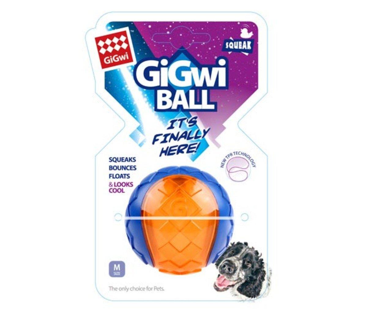 藍橙色色寵物玩具球