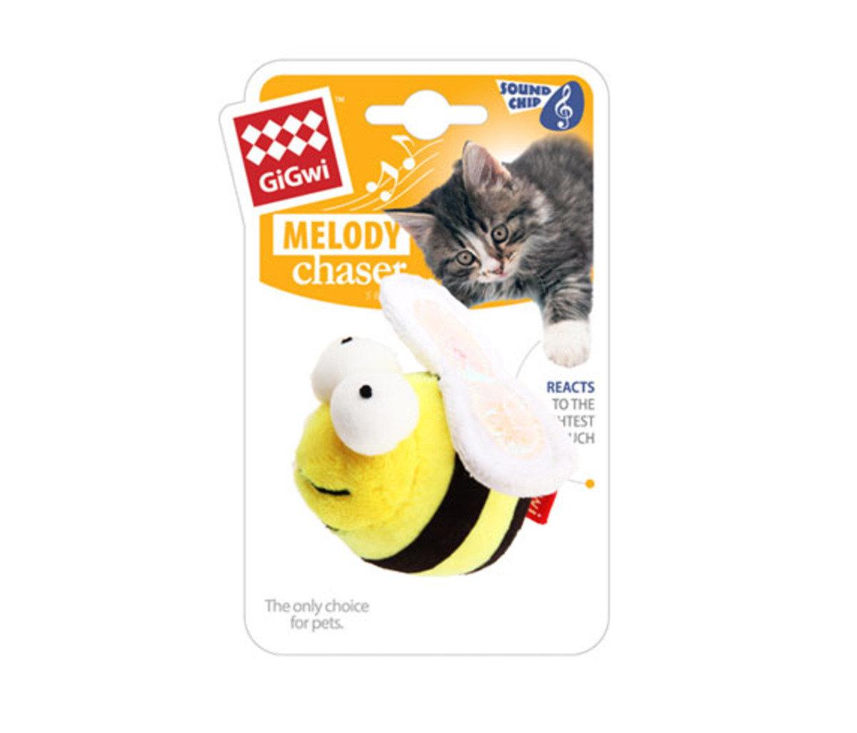 蜜蜂發聲貓玩具