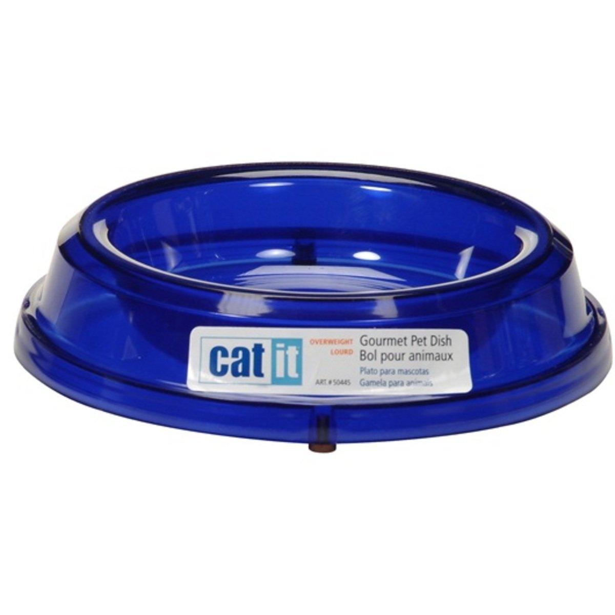 Catit重身海洋藍貓用圓形食物碗
