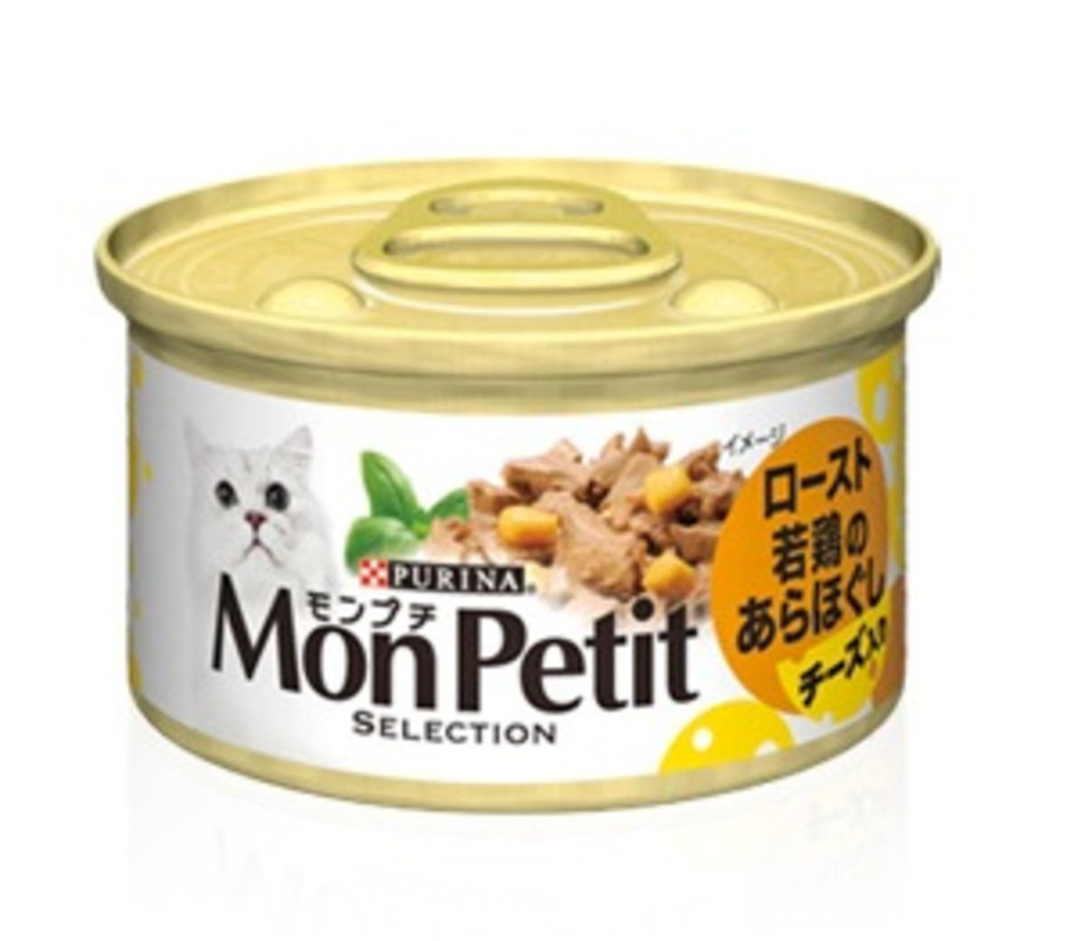 至尊燒汁雞肉伴芝士貓罐頭