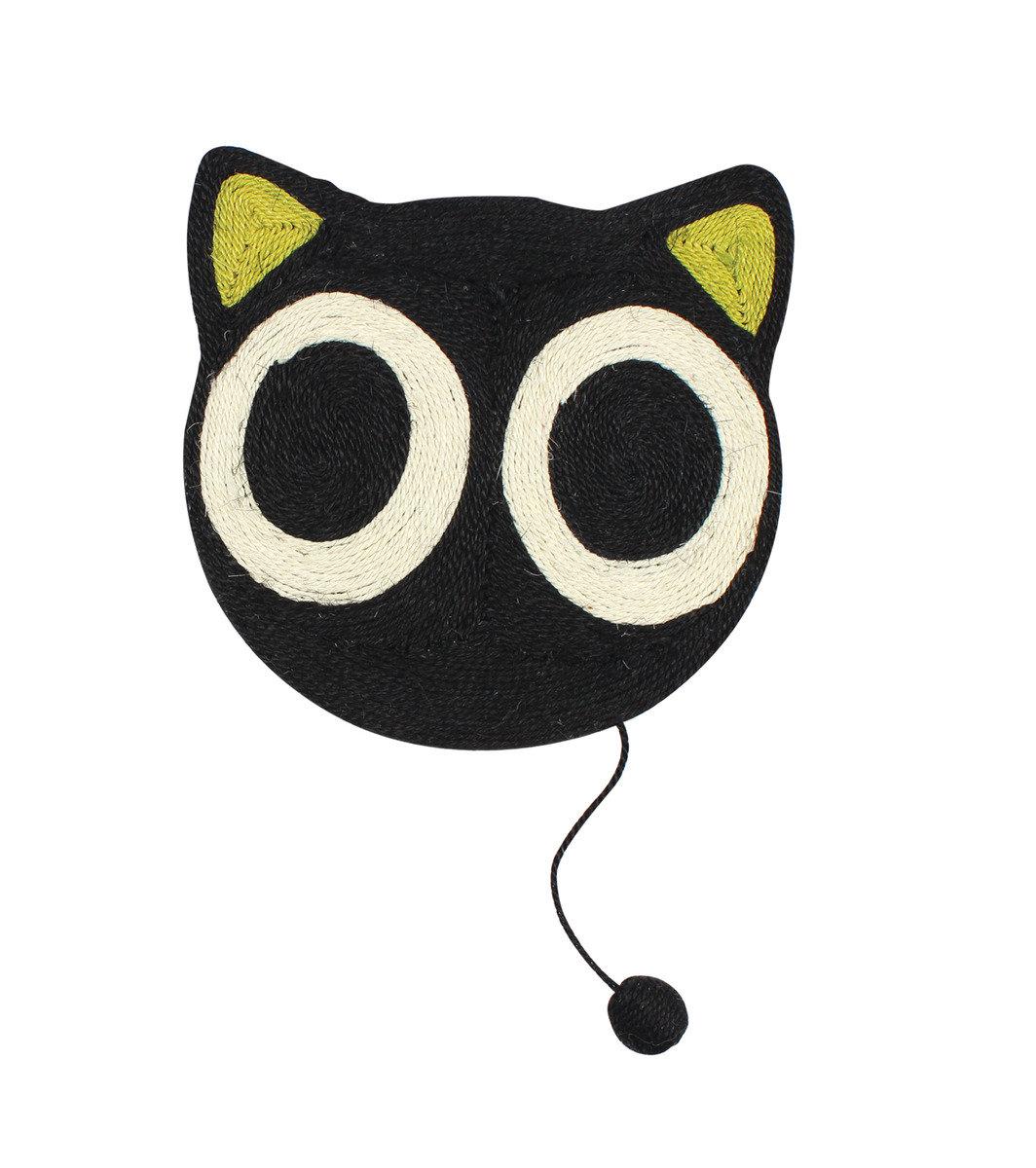 大眼貓頭麻織貓抓板 39.5x39.5cm
