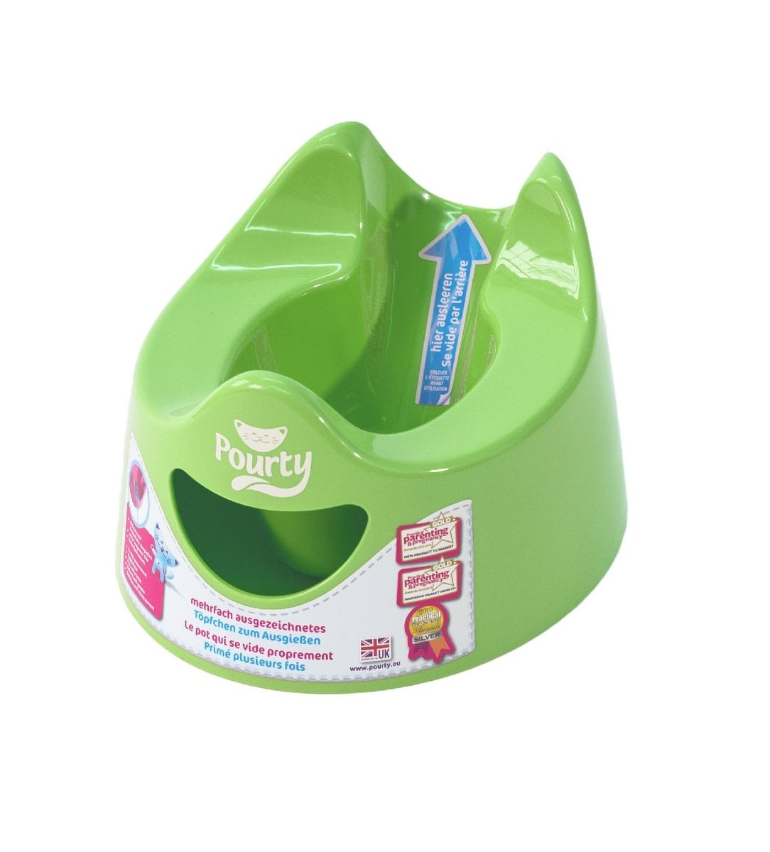 易潔坐廁 - 綠色