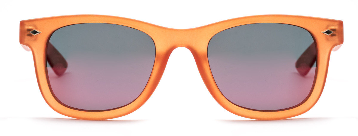Polaroid橙色兒童太陽眼鏡