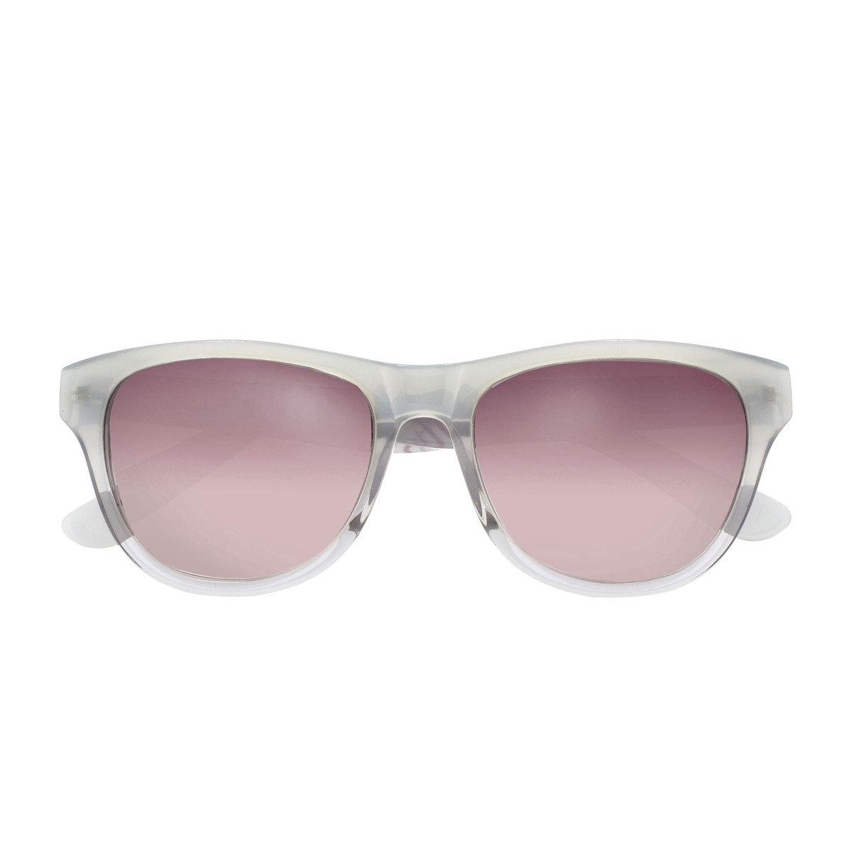 eGG時尚方框防UV淺灰太陽眼鏡