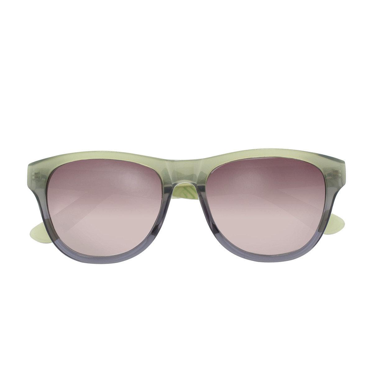 eGG時尚方框防UV淺綠太陽眼鏡