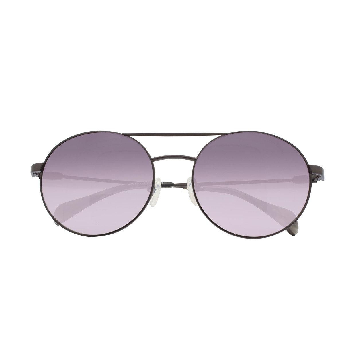 eGG 圓框金屬防UV深灰太陽眼鏡