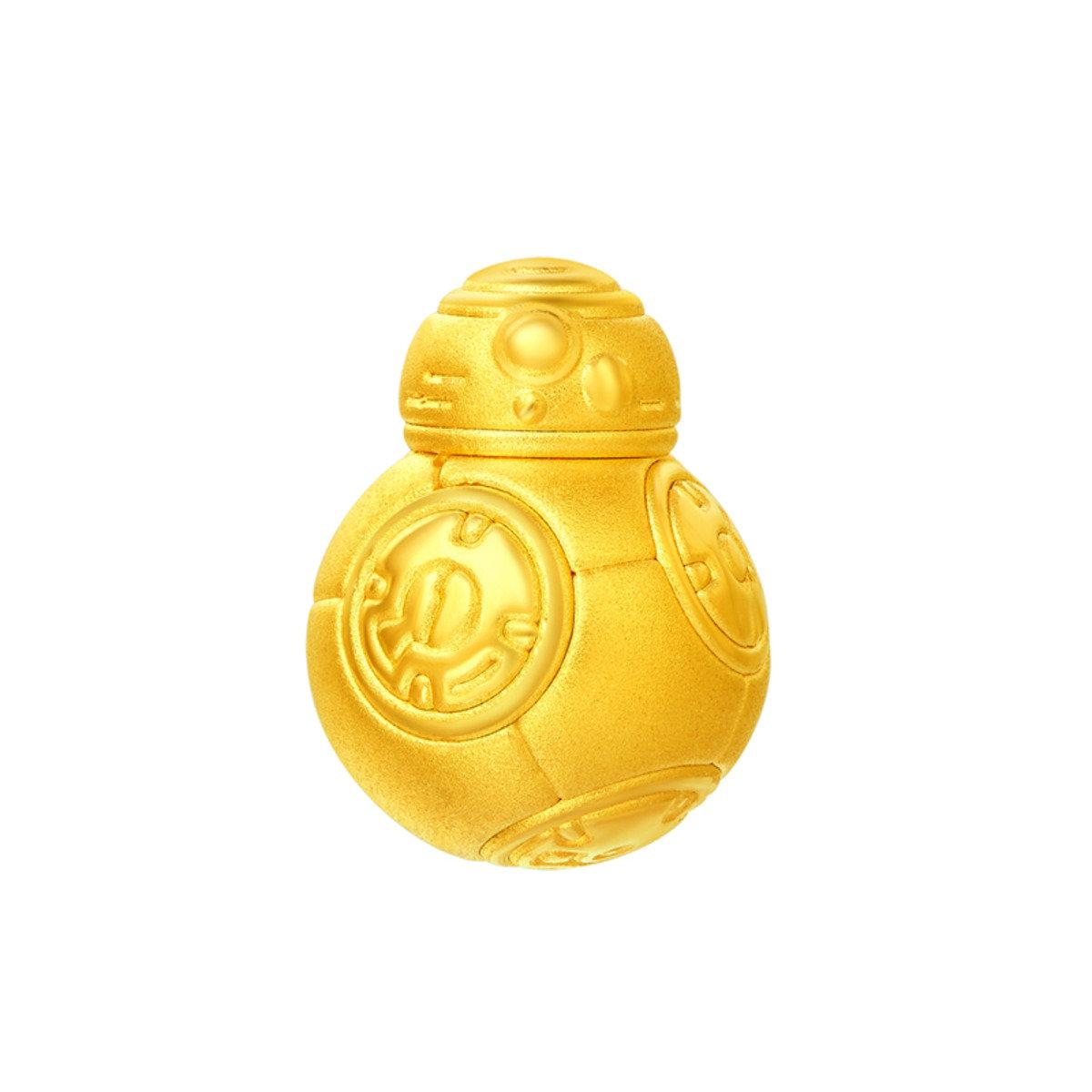星球大戰系列 999 足金工藝精品轉珠 (BB-8)