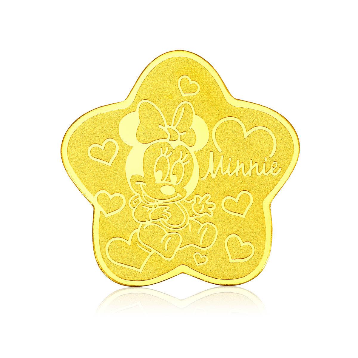 迪士尼經典系列999.9黃金工藝精品金章