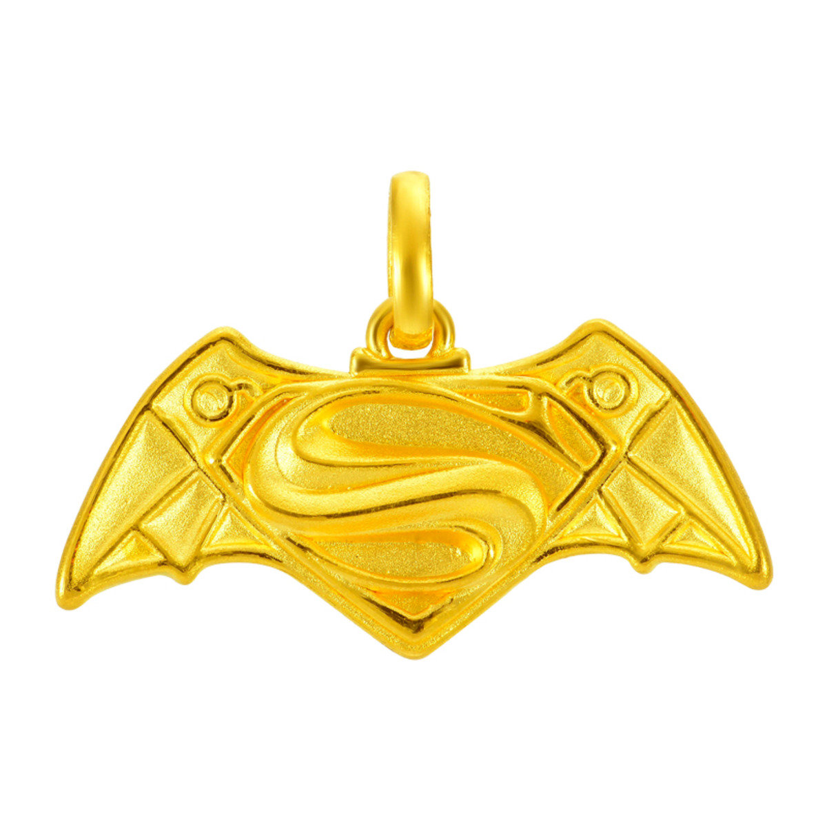 「蝙蝠俠對超人: 正義曙光」系列 999足金吊墜