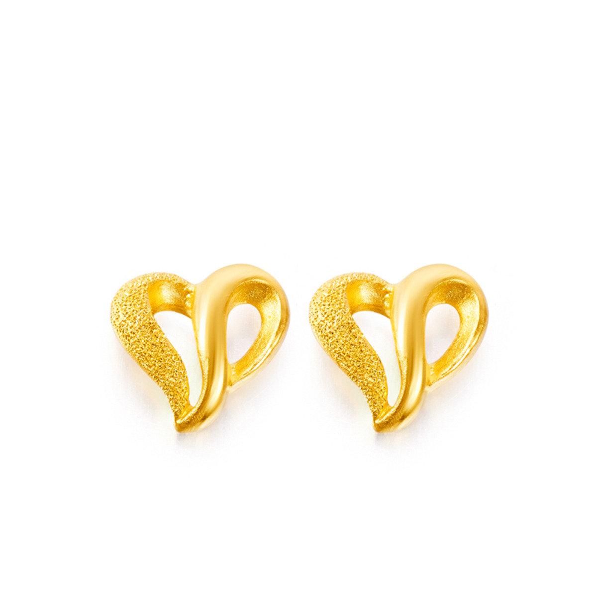 999.9黃金耳環