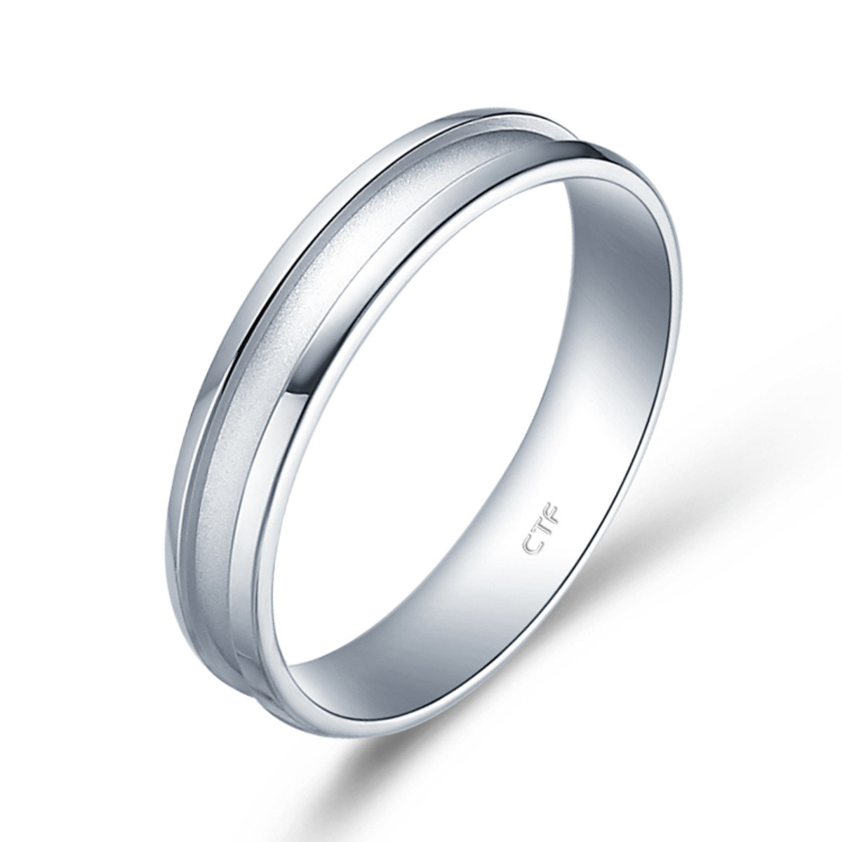 PT950 Perfect Love 情約系列 鉑金對裝戒指