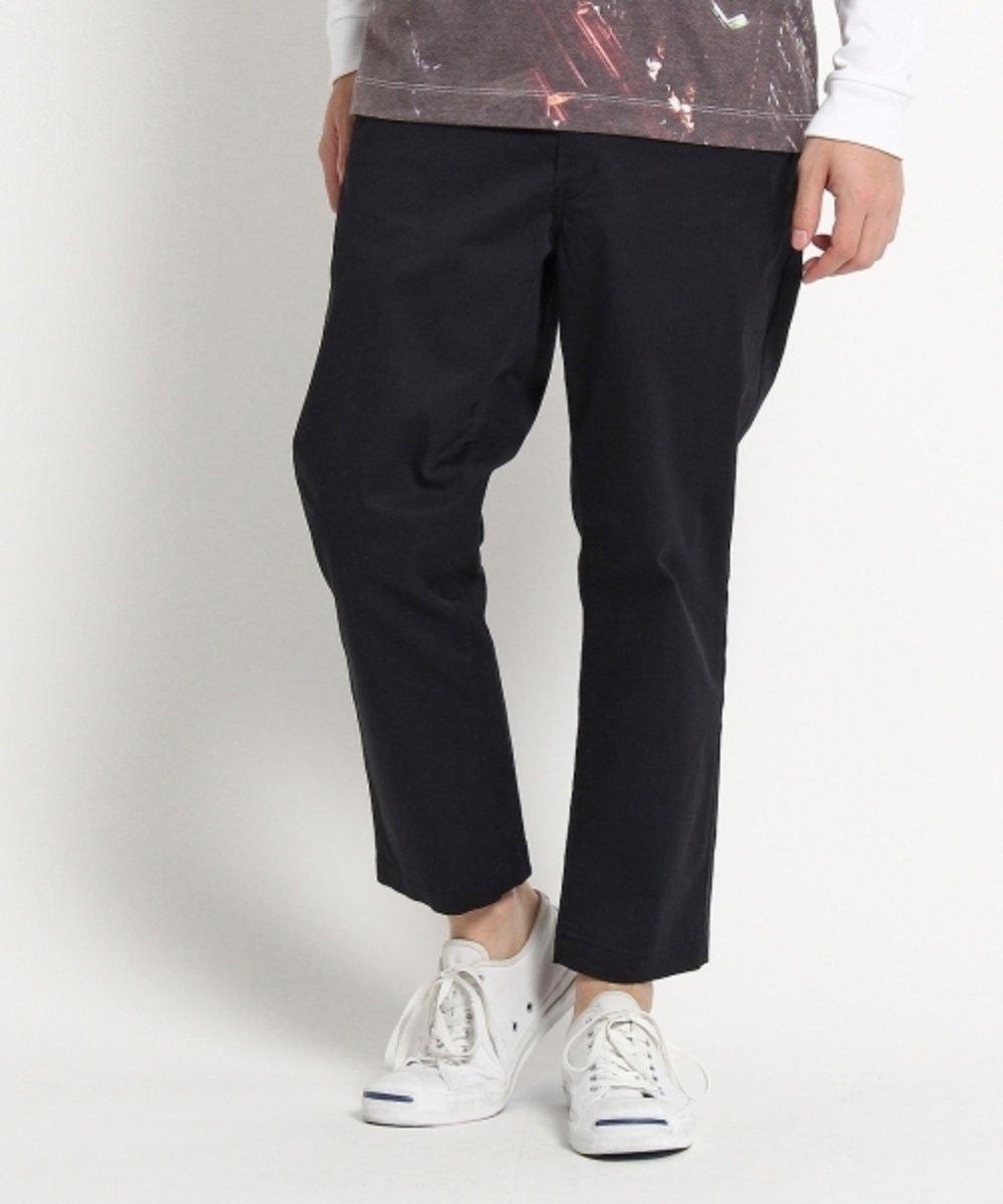 斜紋純色長褲