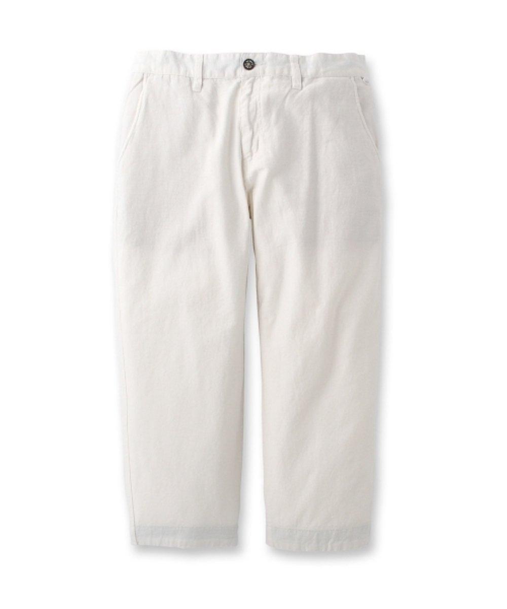 休閒棉質八分長褲