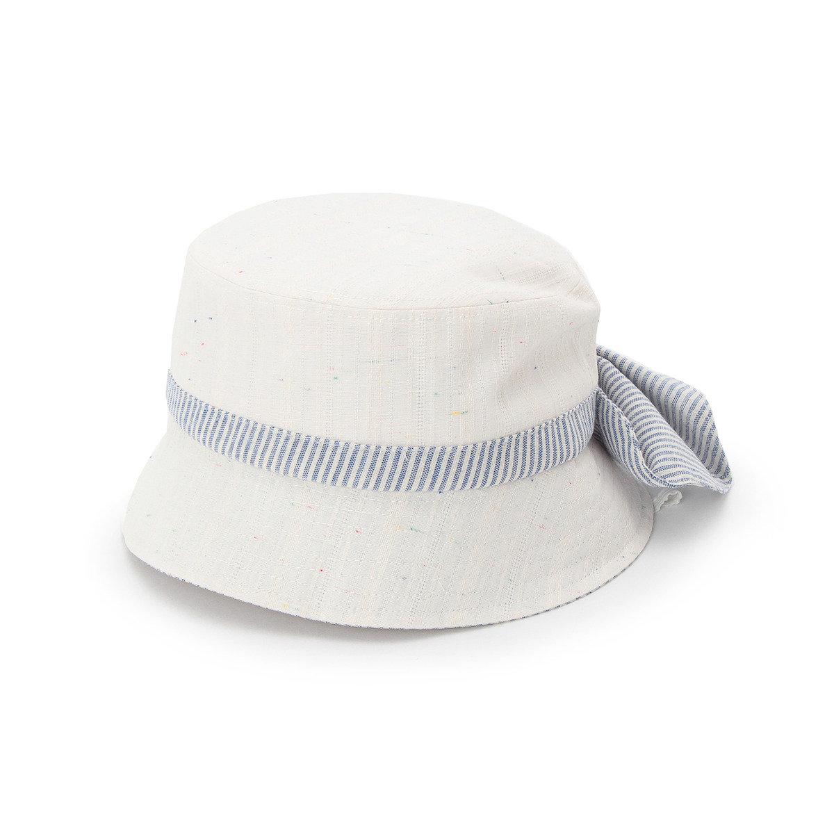 蝴蝶結淨色漁夫帽