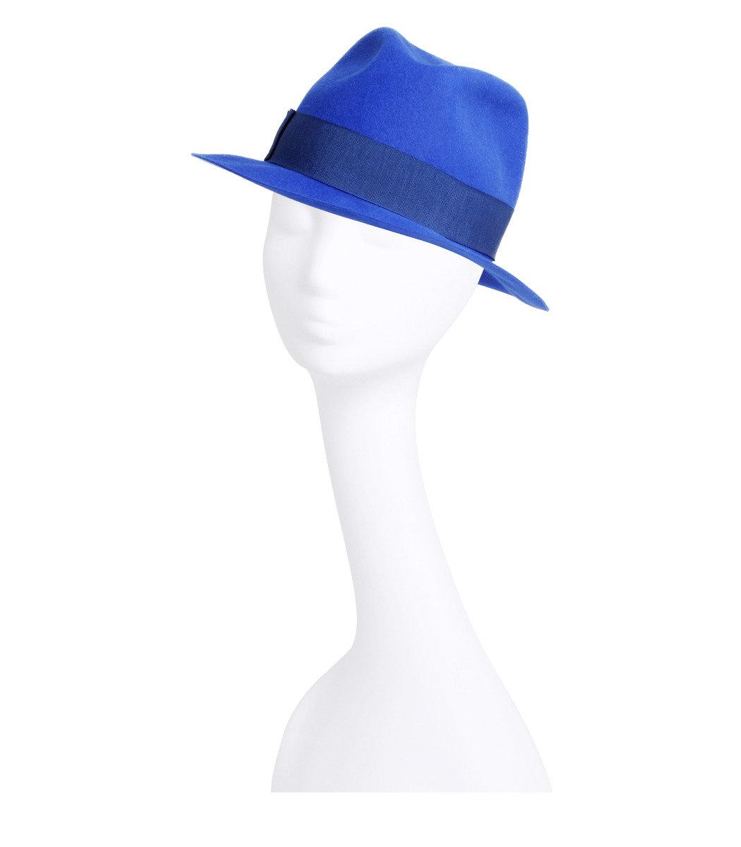 羊毛 fedora 帽子