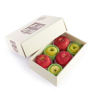 Japan Premium Store - 青森 'Jonagold' + '黃王' 蘋果套裝 (6個/約2.3公斤)