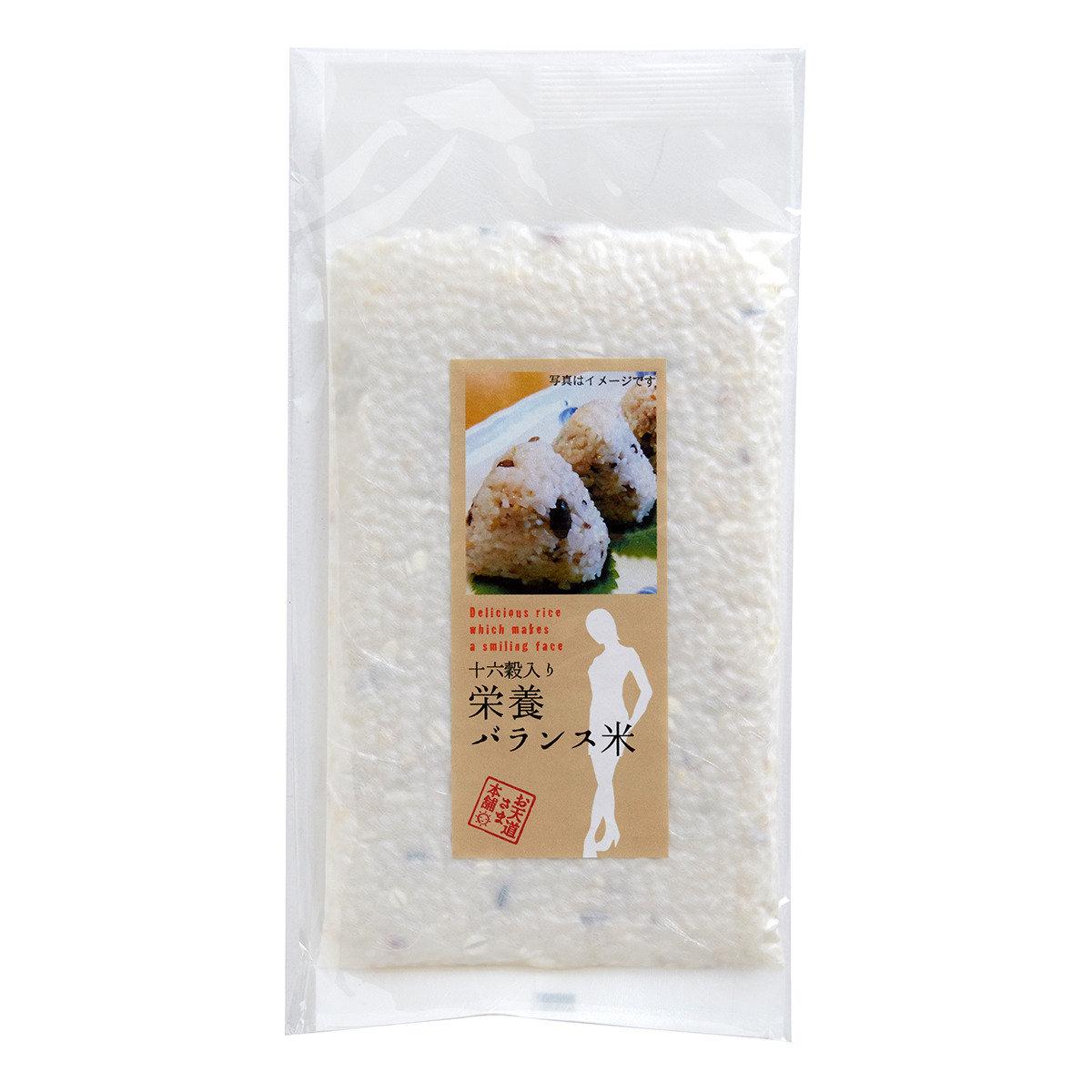 十六榖營養米【扁身真空包裝】150克