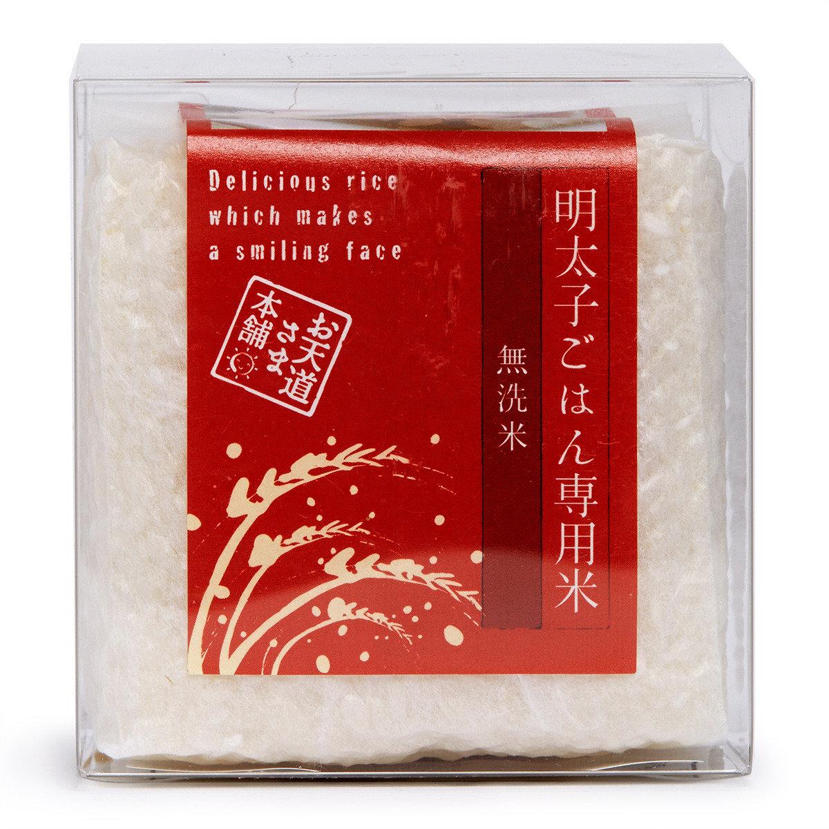 料理(明太子)專用米【立體真空包裝】300克