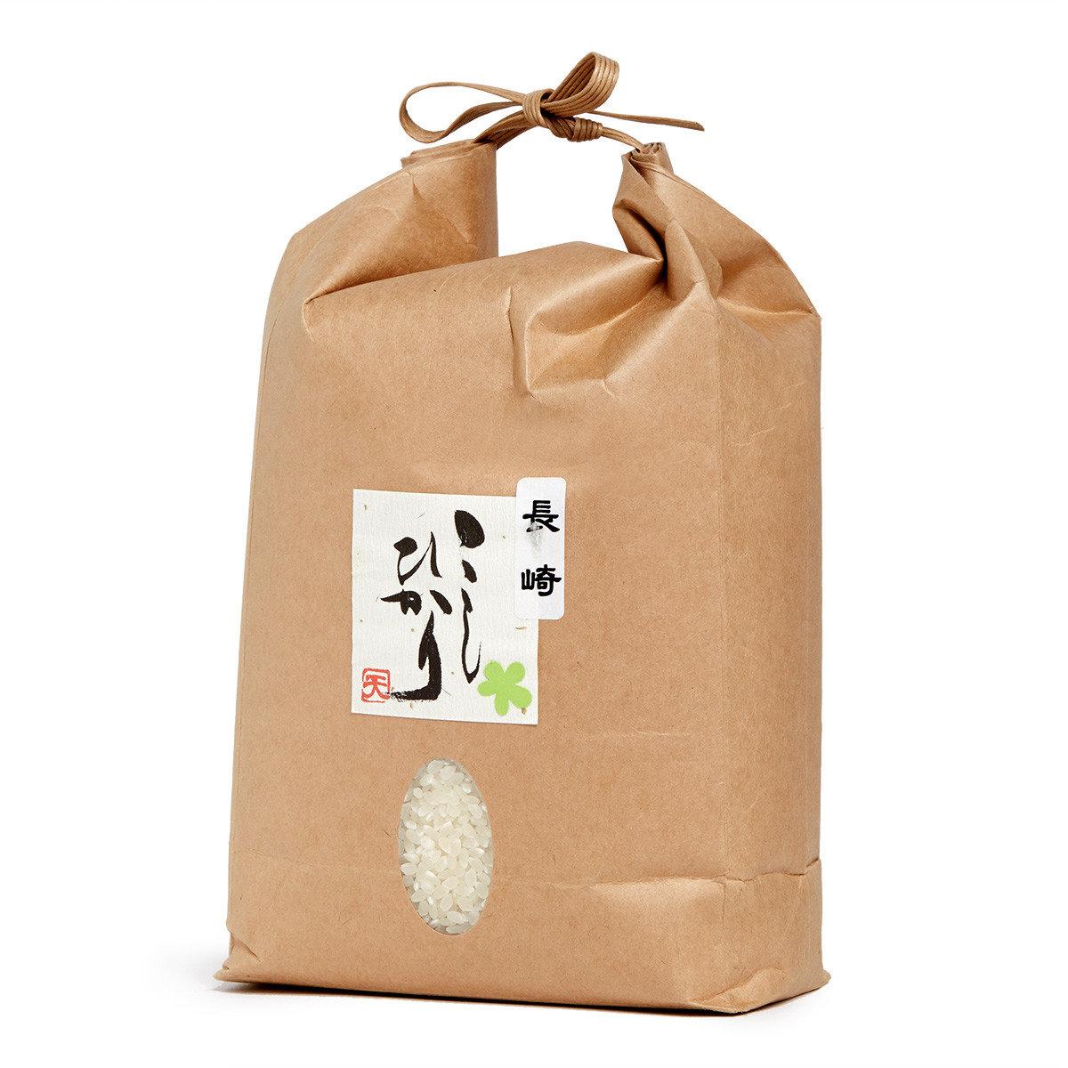 長崎 越光米【普通精米包裝】2公斤