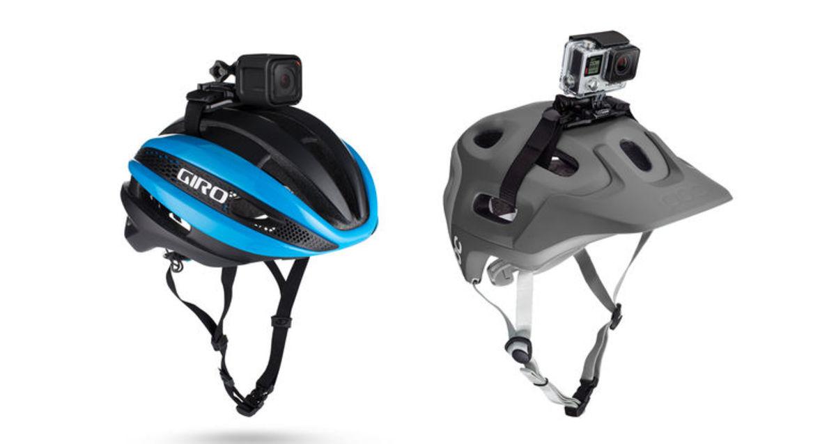GoPro Vented Helmet Strap Mount 單車頭帶