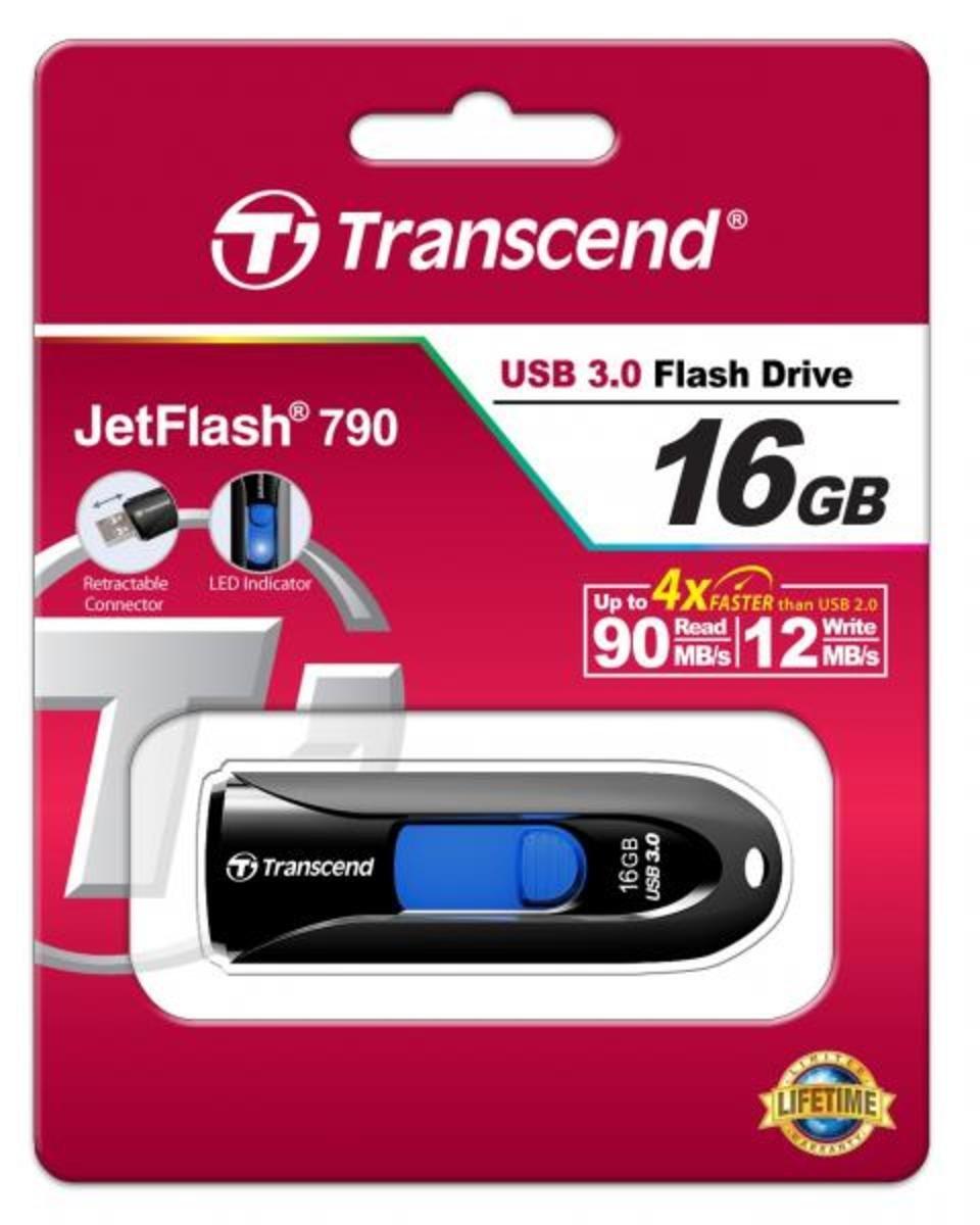 Transcend 16GB JetFlash 790 USB3.0