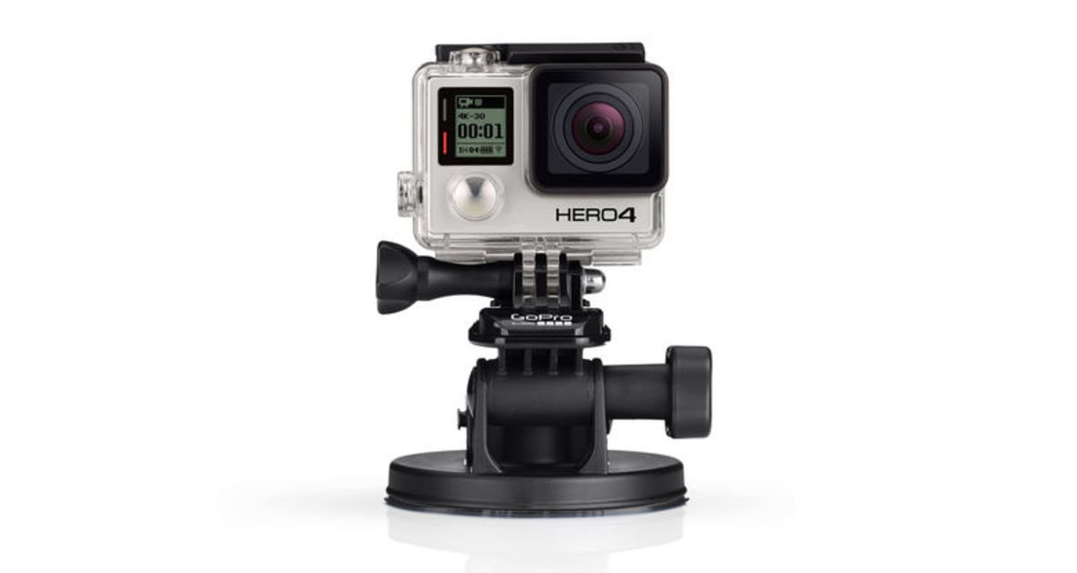 GoPro Suction Cup 玻璃扣具