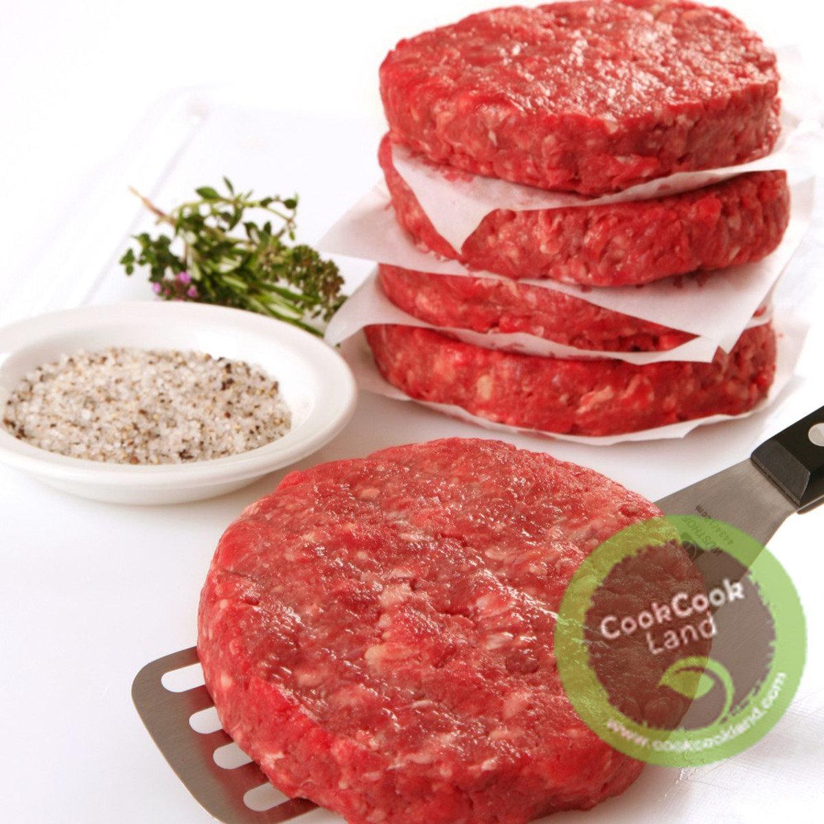 澳洲穀飼和牛 純淨無添加 漢堡扒