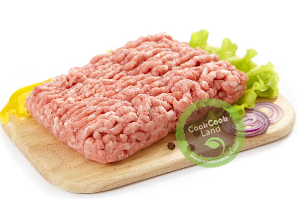 美國免治豬肉
