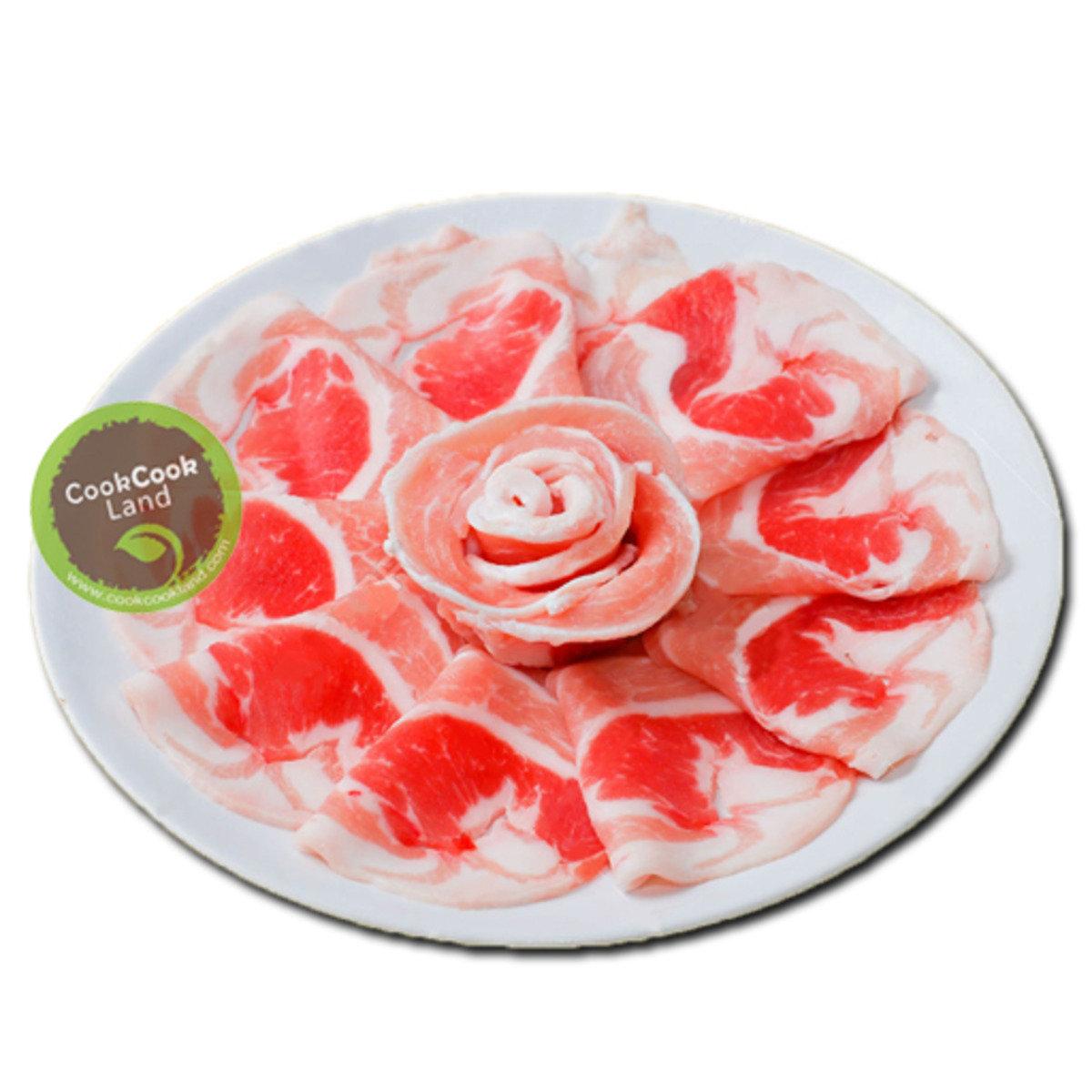 西班牙白豚高級花腩火鍋片